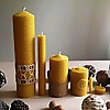 Beeswax Candles‎