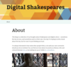 Digital Shakespeares