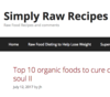 Simply Raw Recipes