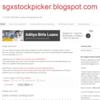 Sgxstockpicker.blogspot.com