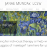 Janae Munday, LCSW - Therapy for individuals and couples.
