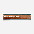 Foundation P at UPPS