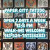 Paper City Tattoo