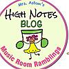 Mrs. Aston's High Notes Blog