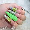 Dazzle Glam Nails