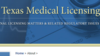 Texas Medical Licensing Law Blog