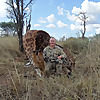 Bow hunting. Africa