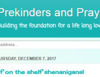 Prekinders and Prayers