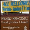 Milner Memorial Presbyterian Church - Pastor's Blog