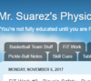 Mr. Suarez's Physical Education Blog