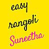 easy rangoli