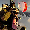 paragliding in gudauri georgia