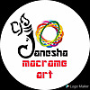 Ganesha macrame art & craft