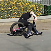 unicycle fails