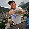 Life in Favela of Rocinha, Rio de Janeiro, Brazil