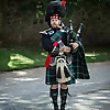 The Welsh Wedding Bagpiper