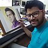 Artist Ankit Jasmatiya