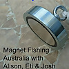 Magnet Fishing Australia with Alison, Eti & Josh