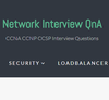 Network Interview QnA