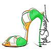 High Heeled Art | Shoe Art Blog