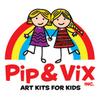Pip & Vix Art Kits Inc | Parents resource for raising creative kids