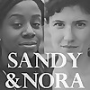 Sandy and Nora talk politics