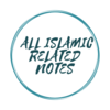 All Islamic related notes