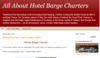 All About Hotel Barge Charters