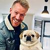 A Man & A Pug