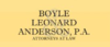 Boyle, Leonard & Anderson, PA