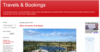Travels & Bookings