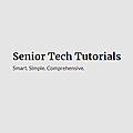 Senior Tech Tutorials