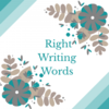 Right Writing Words
