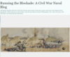 Running the Blockade: A Civil War Naval Blog