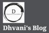 Dhvani's Blog