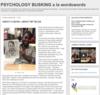 PSYCHOLOGY BUSKING a la wordswords