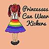 Princesses can wear kickers