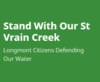 Stand With Our St Vrain Creek