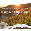 Jesus & A Cup of Joe
