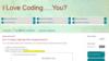 I Love Coding.....You?