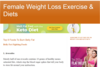 Female Weight Loss Exercise & Diets
