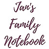 Jan's Family Notebook