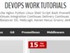 DevOps Work Tutorials