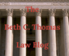 Beth C. Thomas Law Blog
