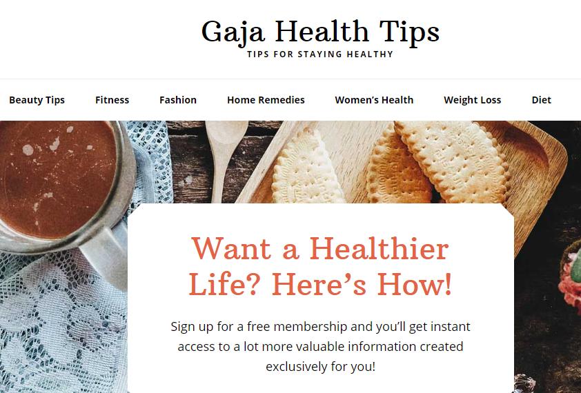 Gaja Health Tips