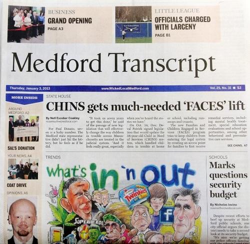 Medford Transcript | News