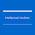 Intellectual intuition