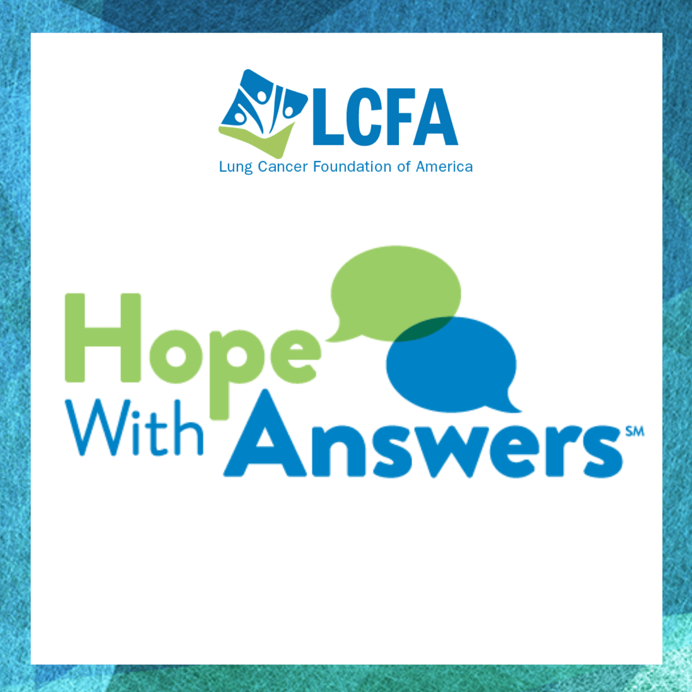 Hope With Answers | Living With Lung Cancer