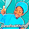 Zane's Teal Kitchen