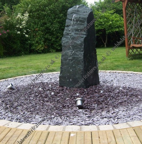 Welsh Slate Water Features